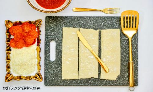 Pizza de Pepperoni Caseiro Hot Pockets Receita na Fritadeira 5
