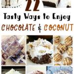 22 maneiras saborosas de saborear chocolate e coco {receitas} 1
